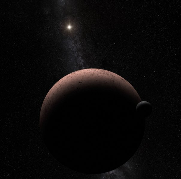 Moon discovered over dwarf planet Makemake in the Kuiper Belt