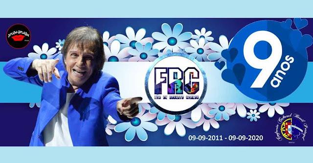 Grupo FRC - Fãs de Roberto Carlos celebra 9 anos de atividade.