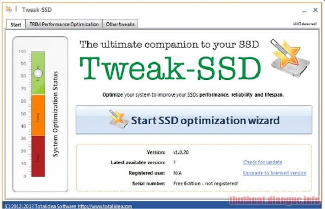 Download Tweak-SSD 2.0.70 Full Crack