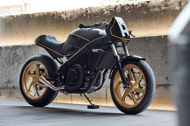 Honda Hawk650 1988 By Analog Motorcycles Hell Kustom