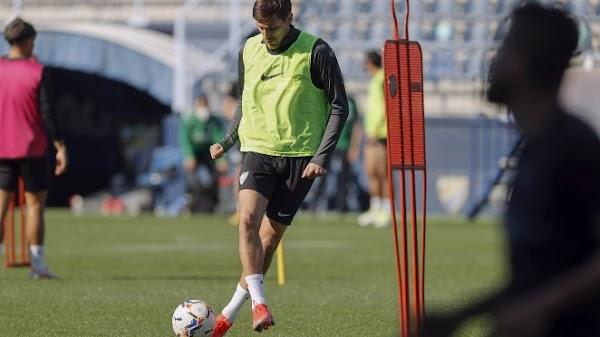 Málaga, sesión de vídeo y campo con la presencia de Scepovic
