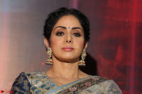 Sri Devi in designer saree stunning beauty at the launch of MOM movie Trailer~  Exclusive 068.JPG