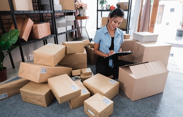 small business shipping tips product shipments