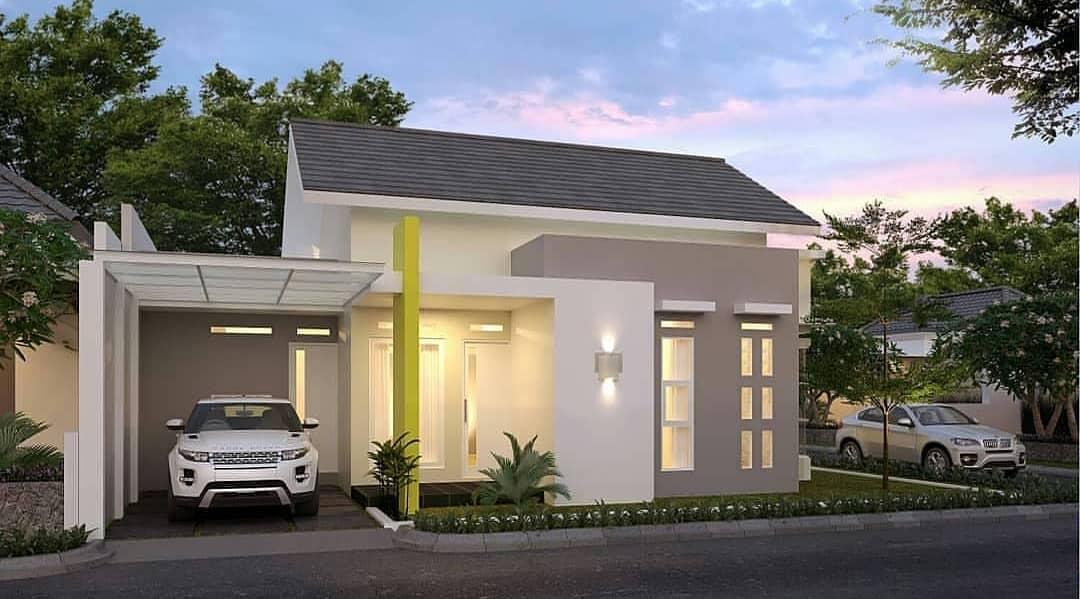 Pilihan Terbaik Desain dan Denah Rumah Type 36 Dengan Dua ...