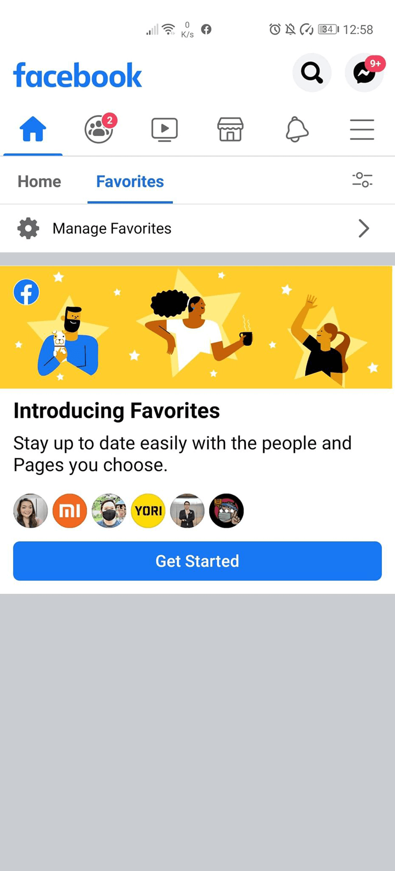 """Facebook outs """"Favorites"""" to let you see posts you only want to see"""