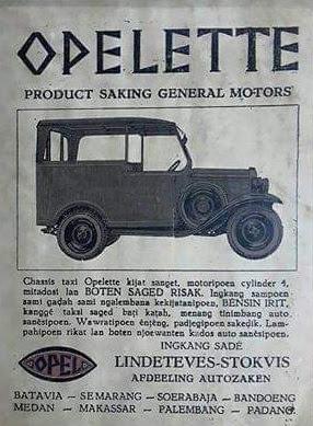 Iklan Opelette (Oplet)