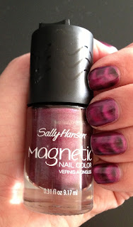 sally hansen magnetic nails red-y response