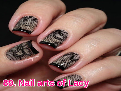 Nail arts of Lacy