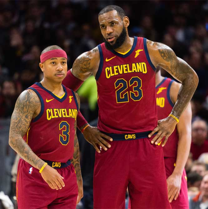 LeBron and Isaiah