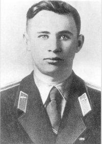 Valentin Bondarenko. Primo piano del cosmonauta.