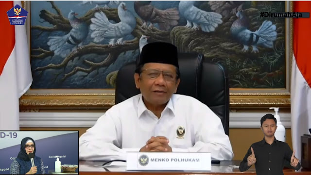 Mahfud MD : Larangan Mudik Berlaku di Seluruh Wilayah Indonesia