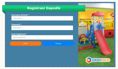 DAPODIK PAUD 3.3.0 OFFLINE