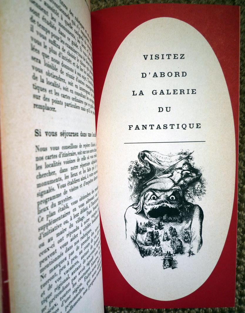 Guide de la france mystérieuse, tchou, les guides noirs.