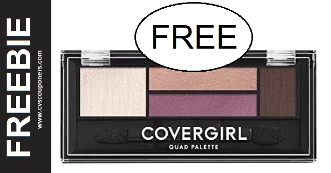 FREE CoverGirl Eyeshadow Palette at CVS 9/20-9/26