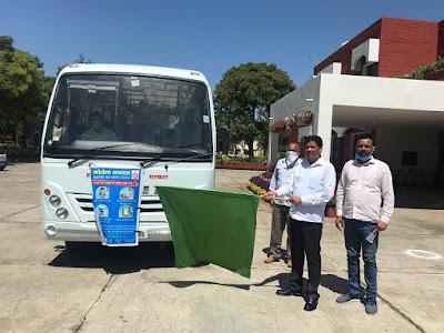 कोरोना बचाव के लिए कुरुक्षेत्र जिले के कोने-कोने में पहुंचेंगा जनसम्पर्क विभाग का प्रचार वाहन: फुलिया