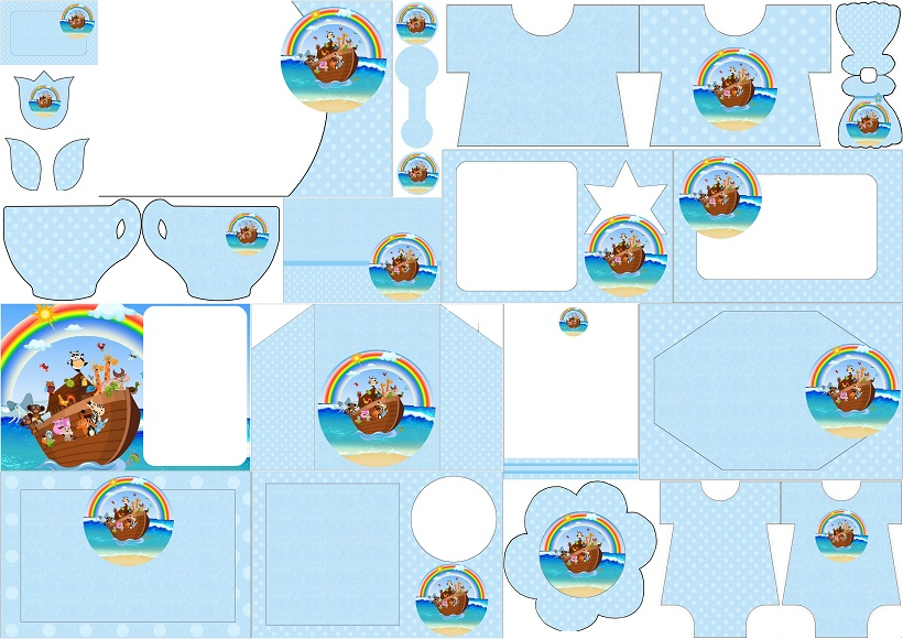 photograph relating to Free Printable Pictures of Noah's Ark referred to as Noah´s Ark for Boys: Cost-free Printable Invites. - Oh My