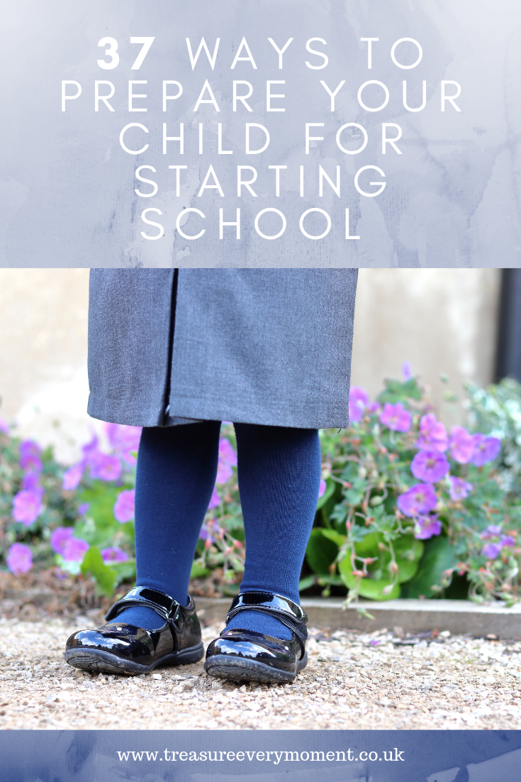 CHILDREN: 37 Ways to Prepare your Child for Starting School