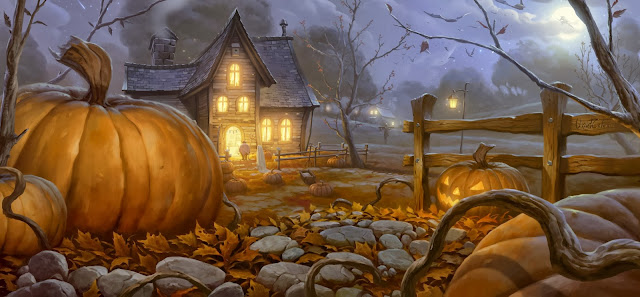 Wallpapers Wide Hd Collections: Halloween HD Wallpaper 1080P Images Backgrounds Collection
