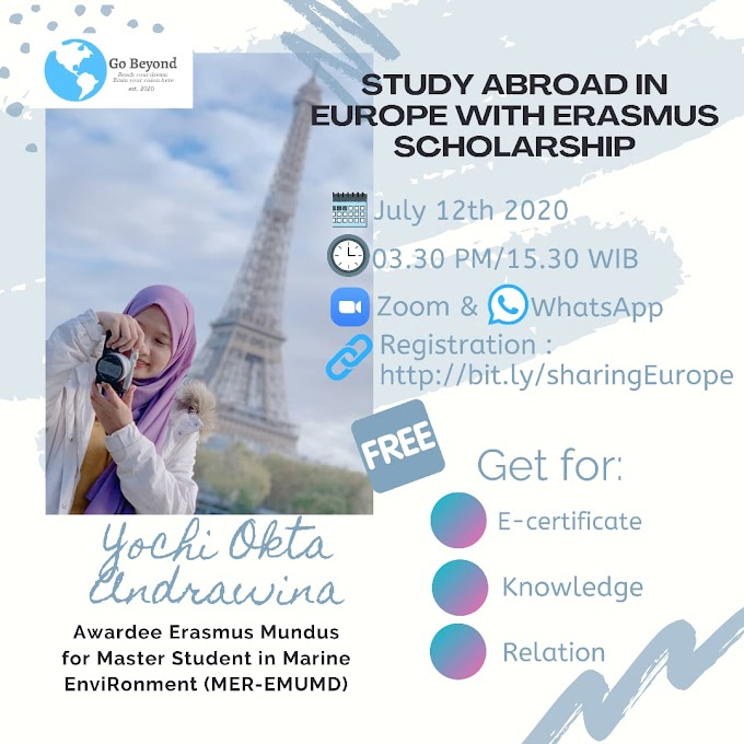 Study Abroad in Europe with Erasmus Scholarship