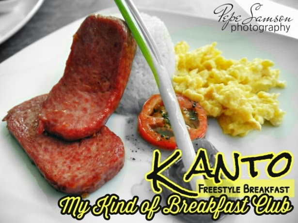 Kanto Freestyle Breakfast: My Kind of Breakfast Club