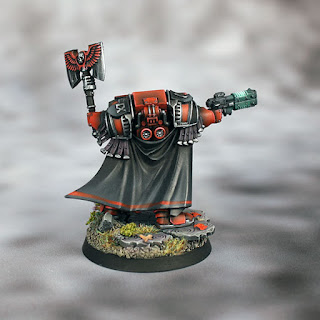 Horus Heresy Blood Angels Cataphractii Praetor Delegatus