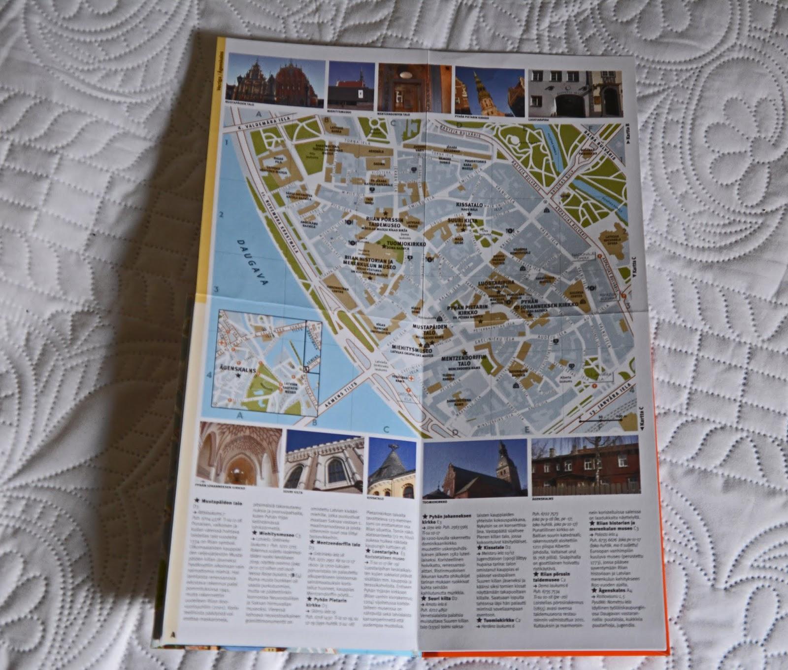 Kirjojen Kuisketta Riian Matkalla Mukana Riika Ymparistoineen