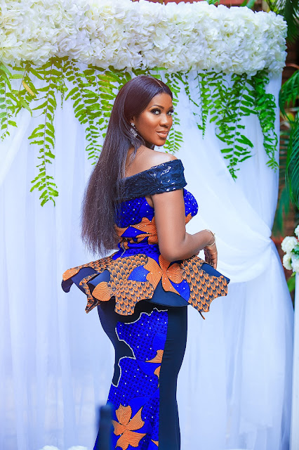 Stephanie Linus sizzles in lovely Ankara pieces