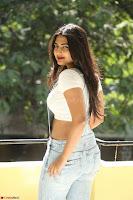 Neha Deshpande in Spicy Denim Jumpsuit and Whtie Crop Top March 2017 072.JPG