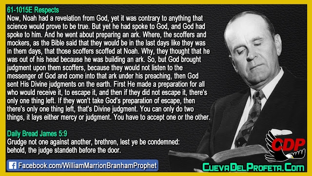 There Is only one thing left Divine judgment - William Branham