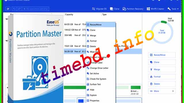 download easeus partition master cracked