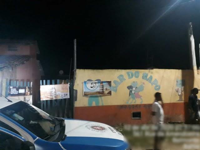 Dono de Bar é executado a tiros em Belmonte
