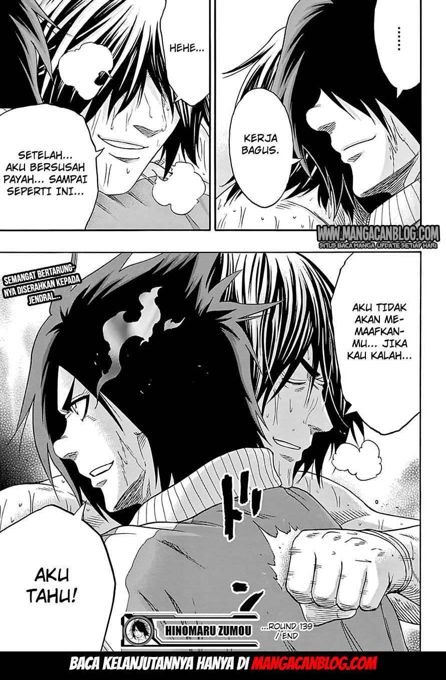 Hinomaru Zumou Chapter 139-16