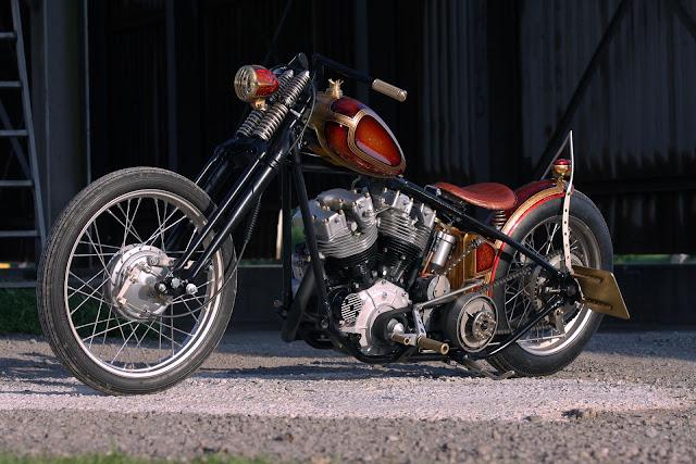 Harley Davidson Shovelhead By Thunderbike Hell Kustom