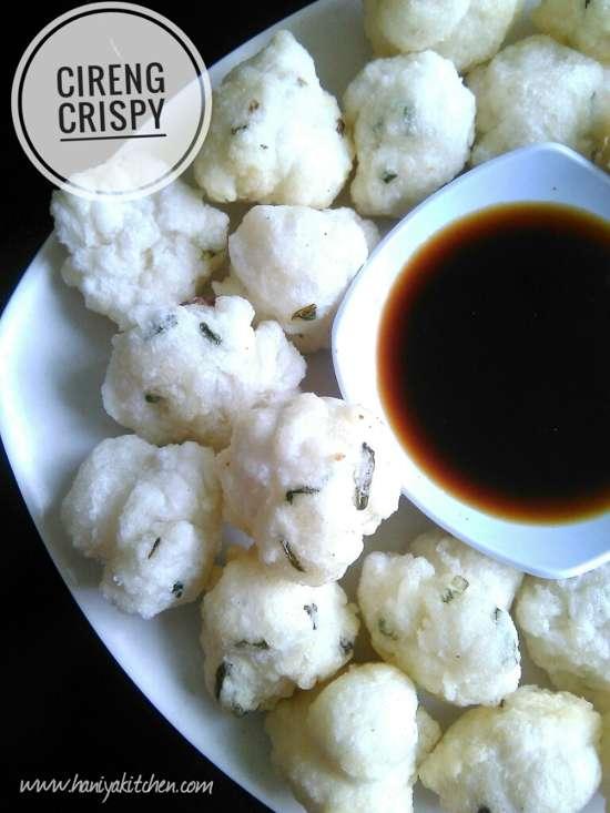 Resep cireng Crispy Renyah diluar empuk dan tidak alot