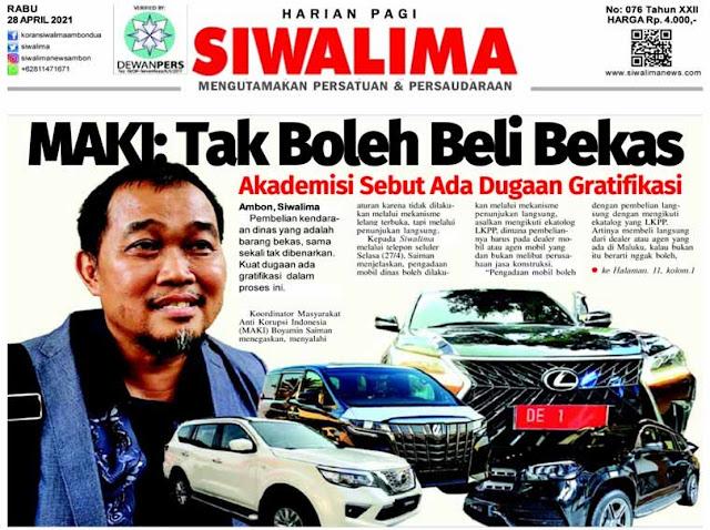 Surat Kabar Harian Siwalima Siap Hadapi Laporan Murad Ismail Terkait Mobil Dinas.lelemuku.com.jpg