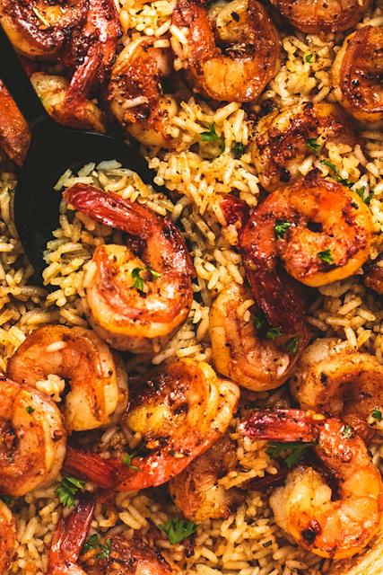 Best Cajun Shrimp and Rice Skillet