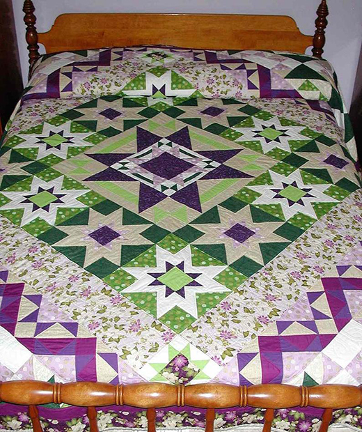 Glorieta Quilt by NaomisQuiltery, The Quilt-Along Designed by Sarah Maxwell and Dolores Smith of Homestead Hearth