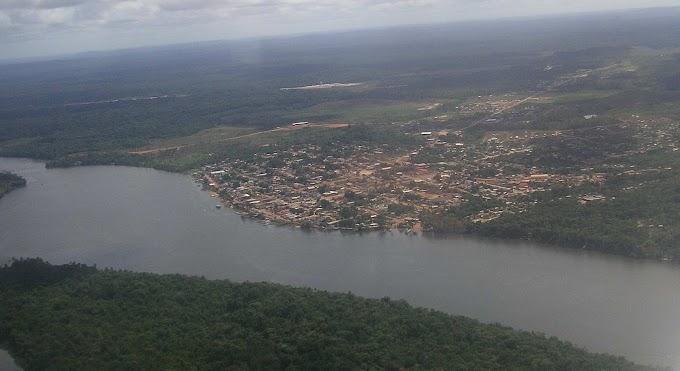 Como surgiu o Rio Oiapoque
