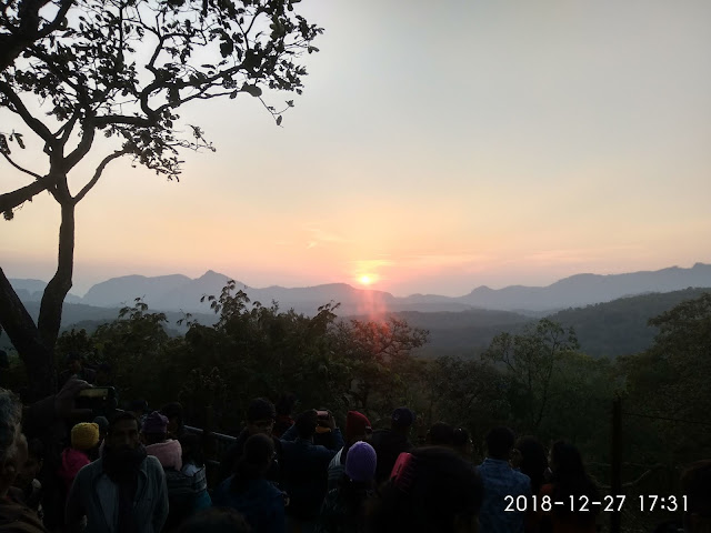Sunset Point, Panchmari