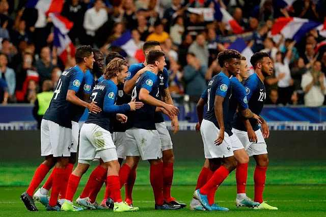 Griezmann's penalty failed, France Bend Andorra 3-0