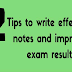 12 Tips to write effective notes and improve exam results #infographic