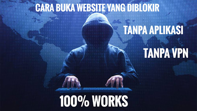 Cara buka situs yang diblokir tanpa aplikasi