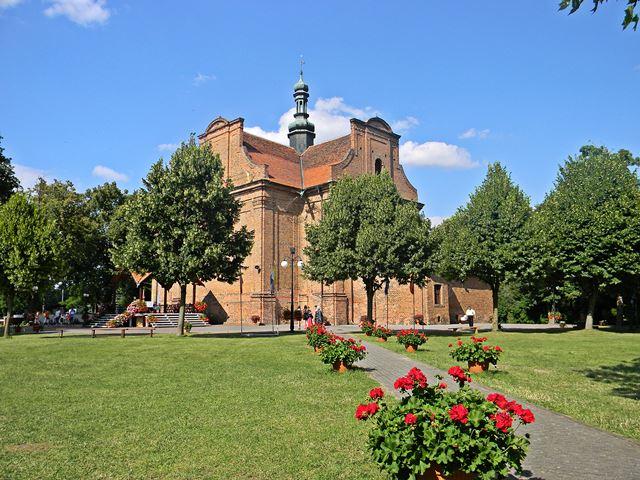 szlak rowerowy, sanktuarium, maryjne, nad Jeziorem Wieleńskim
