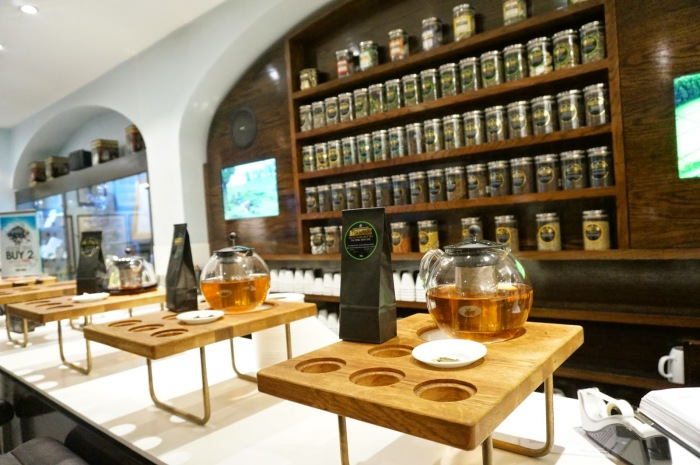 Loja de chá Twinings Londres