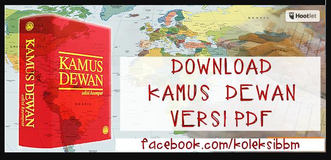 Kamus dewan edisi keempat online free download.