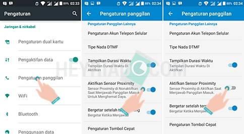 2 Cara Nonaktifkan Icon Gembok Sensor Proximity Saat Nelpon