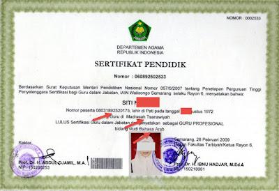 Hasil gambar untuk verval sertifikasi