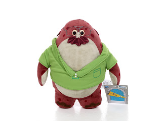 disney store monsters university plush toys don