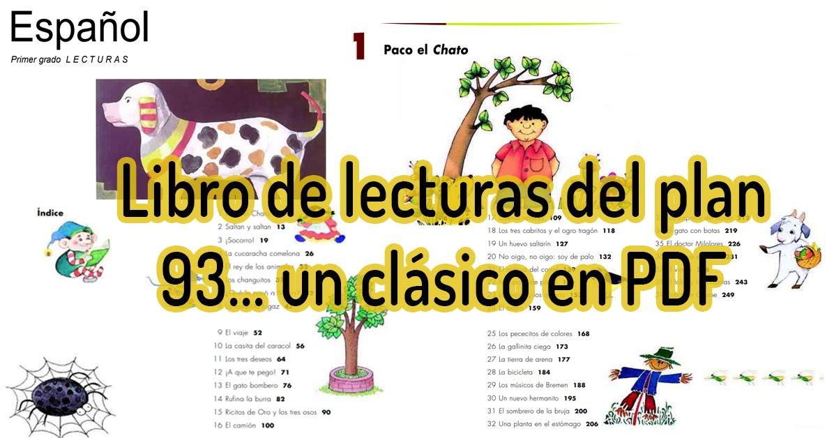 Paco El Chato Lectura Pdf - Libros Favorito
