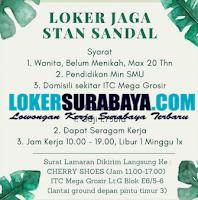 Bursa Kerja di Cherry Shoes Surabaya September 2020